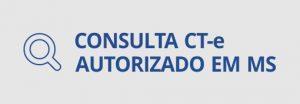 consulta CTe autorizado em MS.